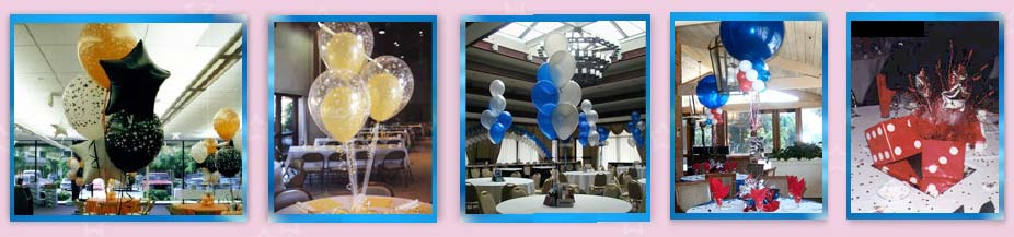 Custom Balloon Centerpiece Designs Are Also Available And We Can Incorporate Your Theme Into Most